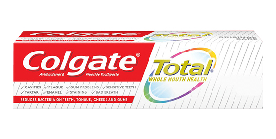 Introducing new generation of Colgate Total